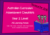 Australian Curriculum Assessment Check-lists for Year 2