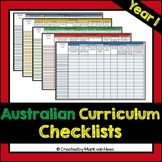 Australian Curriculum Assessment Checklist - Year 1