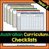 Australian Curriculum Assessment Checklist - Year 2