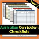 Australian Curriculum Assessment Checklist - Year 2