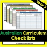 Australian Curriculum Assessment Checklist - Year 3