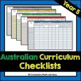 Australian Curriculum Assessment Checklist - Year 5