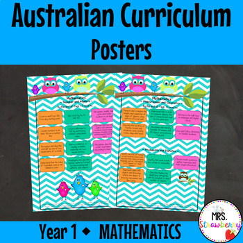 Year 1 Australian Curriculum Posters - Mathematics