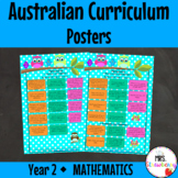 Year 2 Australian Curriculum Posters - Mathematics