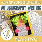 Australian Curriculum Autobiography Writing Unit