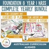 Australian Curriculum Composite Foundation and Year 1 HASS
