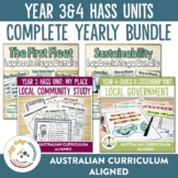 Australian Curriculum Composite Year 3 and 4 HASS Unit Bundle