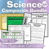 Australian Curriculum Composite Year 5/6 Science Units