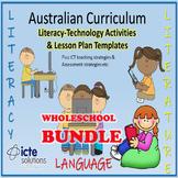 Australian Curriculum English Activities & Lesson Plans Bu
