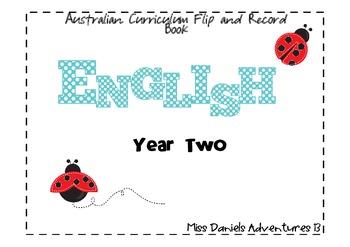 Australian Curriculum English Flap Book Yr 2