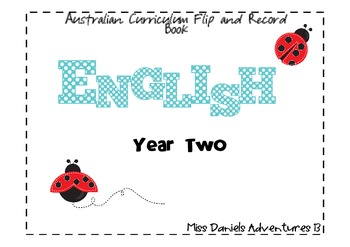 Australian Curriculum English Flap Book Yr 2