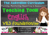 Australian Curriculum English v8.3 Pre Primary/Foundation Teacher Tools