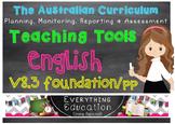Australian Curriculum English v8.3 Pre Primary/Foundation Teacher Tools