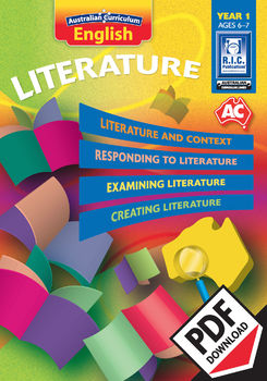Australian Curriculum English – Literature – Year 1