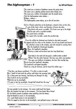 Australian Curriculum English – Literature – Year 4
