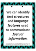 Australian Curriculum English Standard Posters - Year 2