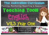 Australian Curriculum English v8.3 Year 1 Teacher Tools