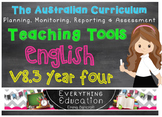 Australian Curriculum English v8.3 Year 4 Teacher Tools