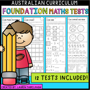 Australian Curriculum Foundation Maths