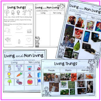 Australian Curriculum Foundation Science - Living things