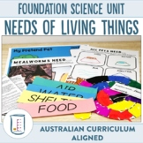Australian Curriculum Foundation Science Unit Needs of Liv