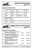 Australian Curriculum Geography quizzes – Year 3