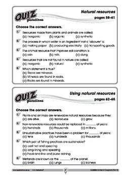 Australian Curriculum Geography quizzes – Year 4