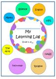 Australian Curriculum Grade 5 Visible Learning Student Assessment Log