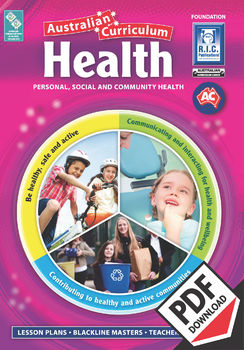 Australian Curriculum Health – Foundation ebook