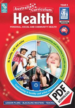 Australian Curriculum Health – Year 3 ebook