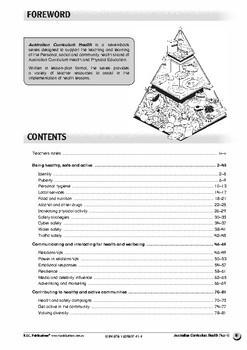 Australian Curriculum Health – Year 6 ebook