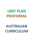 Australian Curriculum Health and Physical Education Unit P