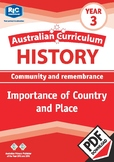 Australian Curriculum History: Importance of Country and place – Year 3