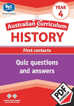 Australian Curriculum History: Quizzes – Year 4