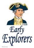 Early Explorers Title Pages - Dampier Tasman Hartog Cook - Australian History
