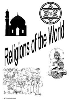 Australian Curriculum - History Title Pages - World Religions - People's Beliefs