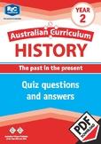 Australian Curriculum History quizzes – Year 2 ebook