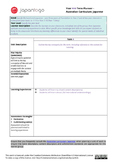 Australian Curriculum: Japanese - Term Planner (Template)