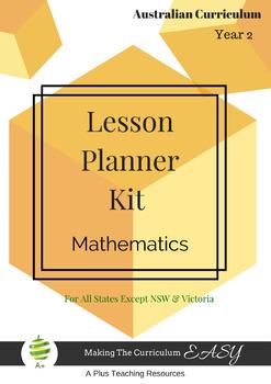Australian Curriculum Lesson Planner - Maths Year 2