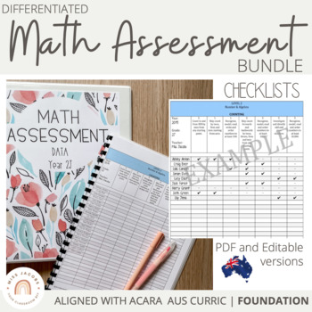 Australian Curriculum Mathematics Assessment Checklists: F