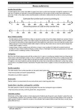 Australian Curriculum Mathematics – Number and Algebra– Year 3
