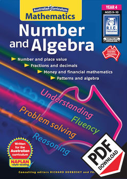 Australian Curriculum Mathematics – Number and Algebra– Year 4
