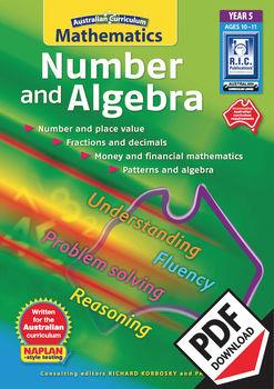 Australian Curriculum Mathematics – Number and Algebra– Year 5