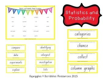 Australian Curriculum Mathematics Student Vocabulary - Year 3