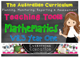 Australian Curriculum Mathematics v8.3 Year 1 Teacher Tools