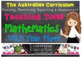 Australian Curriculum Mathematics v8.3 Year 3 Teacher Tools