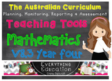 Australian Curriculum Mathematics v8.3 Year 4 Teacher Tools