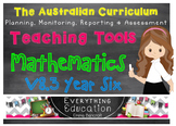 Australian Curriculum Mathematics v8.3 Year 6 Teacher Tools