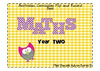 Australian Curriculum Maths Flap Recording Book Yr 2