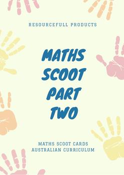 Australian Curriculum Maths Scoot - Two